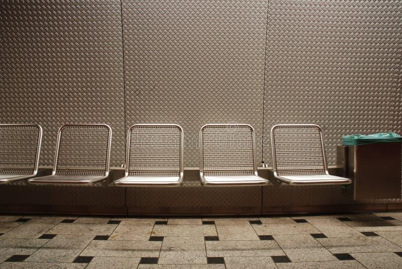 platsstationsgångtunnel fotografering för bildbyråer