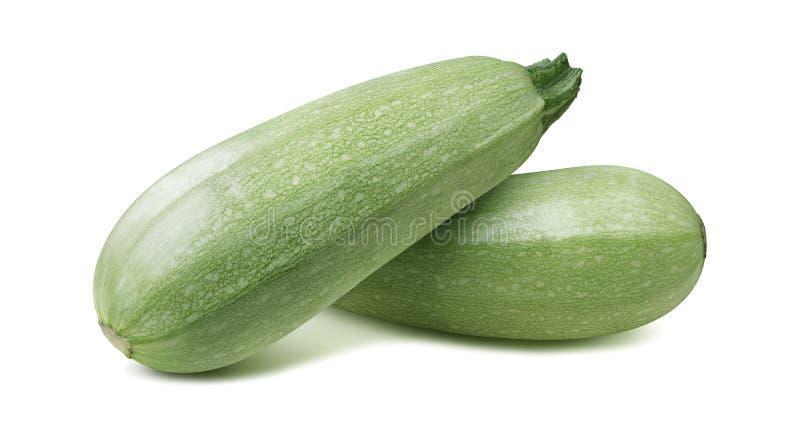 Platta till zucchinin för grönsakmärg isolerade 5 på vit bakgrund royaltyfri fotografi