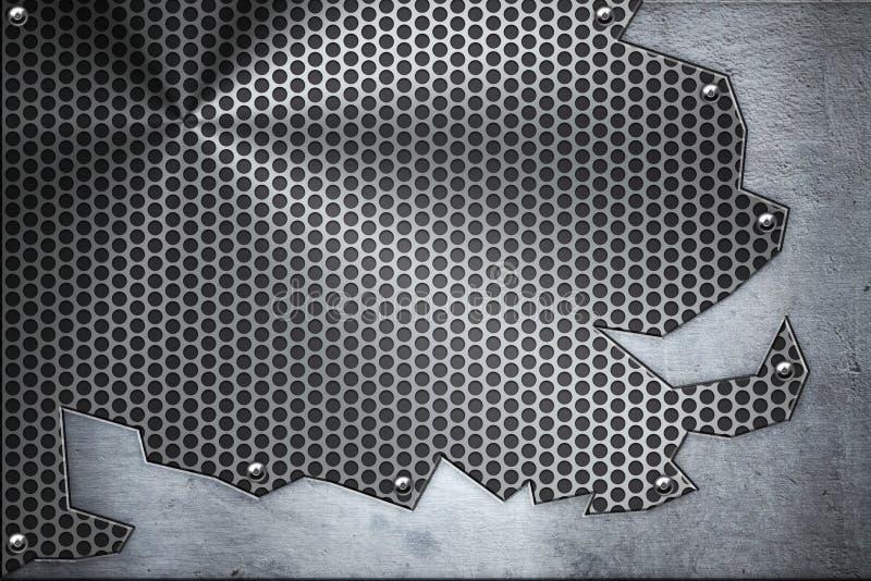 plattastål stock illustrationer