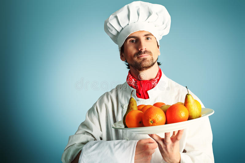 Platte der Früchte lizenzfreies stockbild