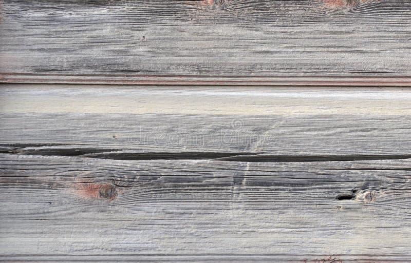 Platte von den alten horizontalen gebrochenen Brettern stockfotos