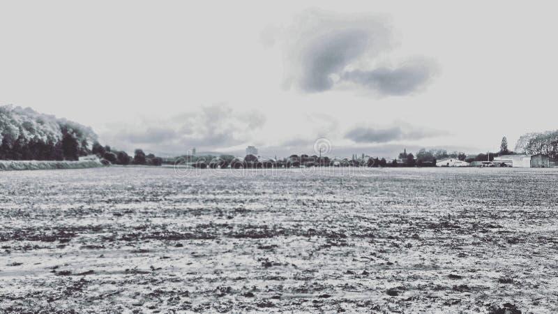 Platteland royalty-vrije stock foto