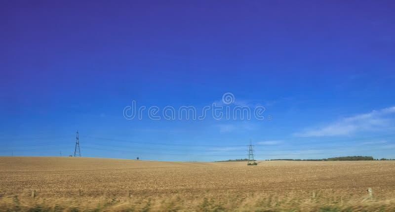 Platteland dichtbij Cambridge royalty-vrije stock fotografie