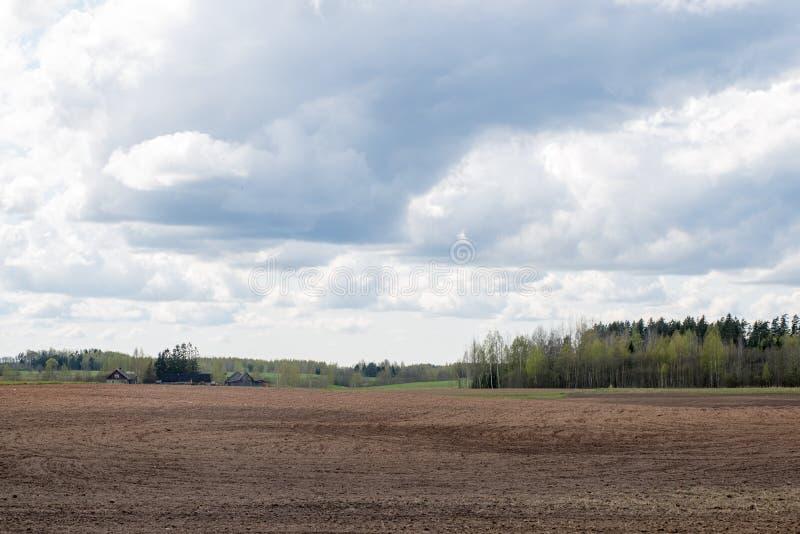 Download Plattelandsgebieden In De Vroege Lente Stock Foto - Afbeelding bestaande uit vers, vakantie: 54077904