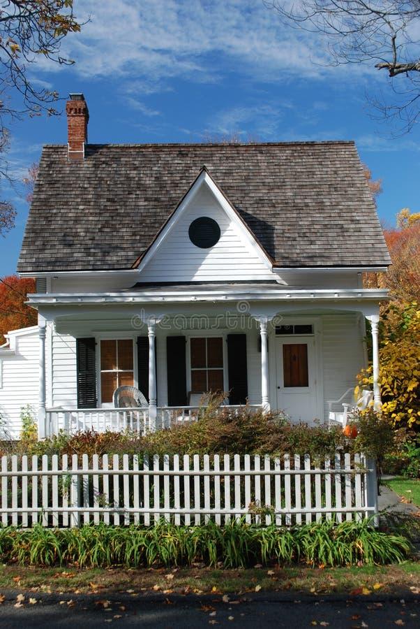 Plattelandshuisje in de Staat van New York stock foto