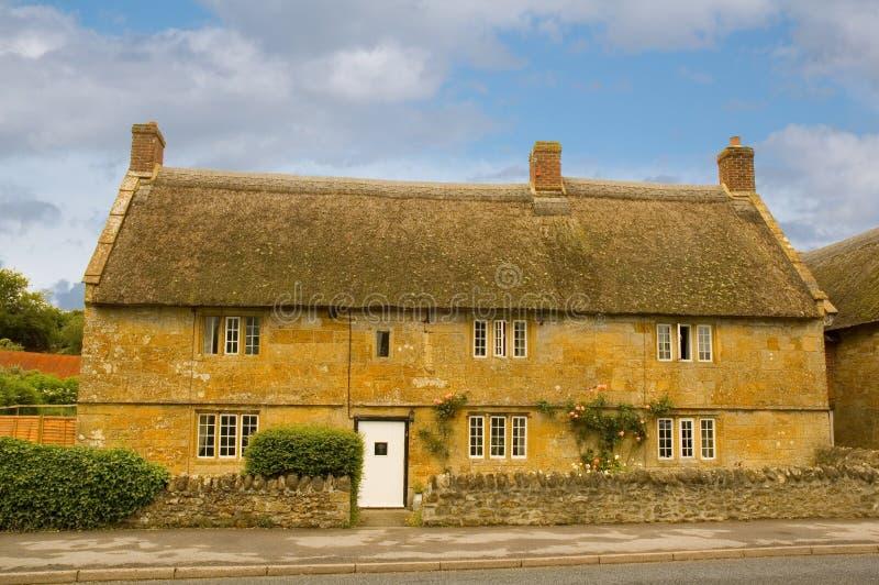 Plattelandshuisje in Dorset royalty-vrije stock afbeelding