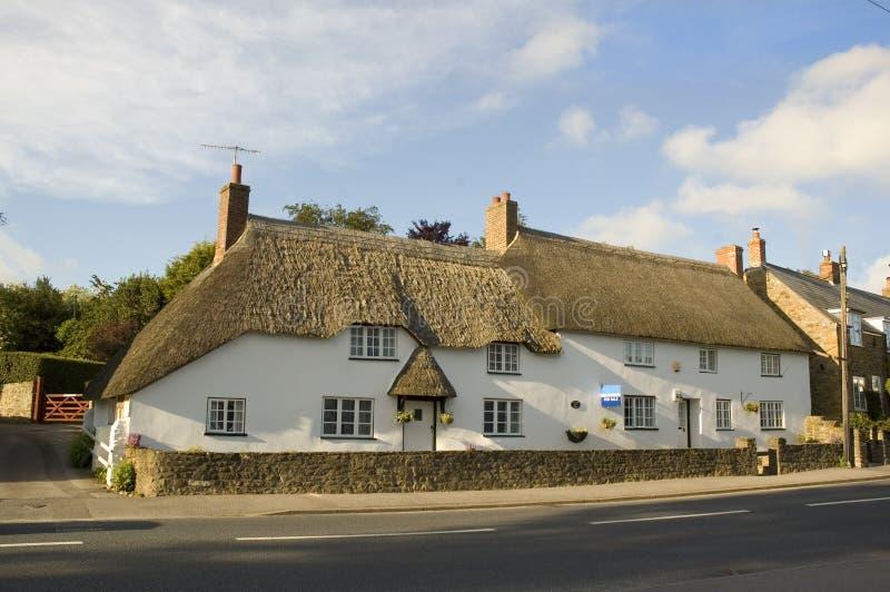 Plattelandshuisje in Dorset royalty-vrije stock foto's