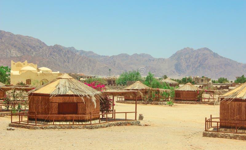 Plattelandshuisje in een Kamp in Sinai royalty-vrije stock fotografie
