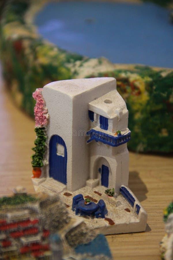 Plattelandshuisje op het strand royalty-vrije stock afbeeldingen