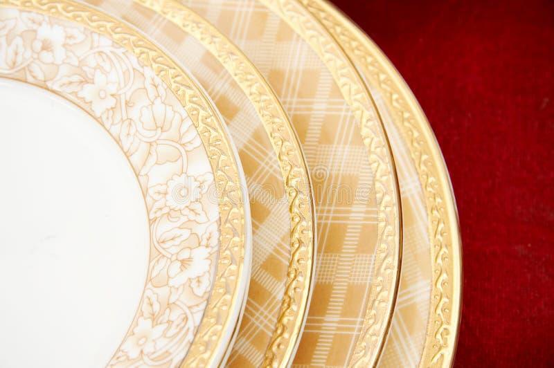 Platten getrennt stockbild