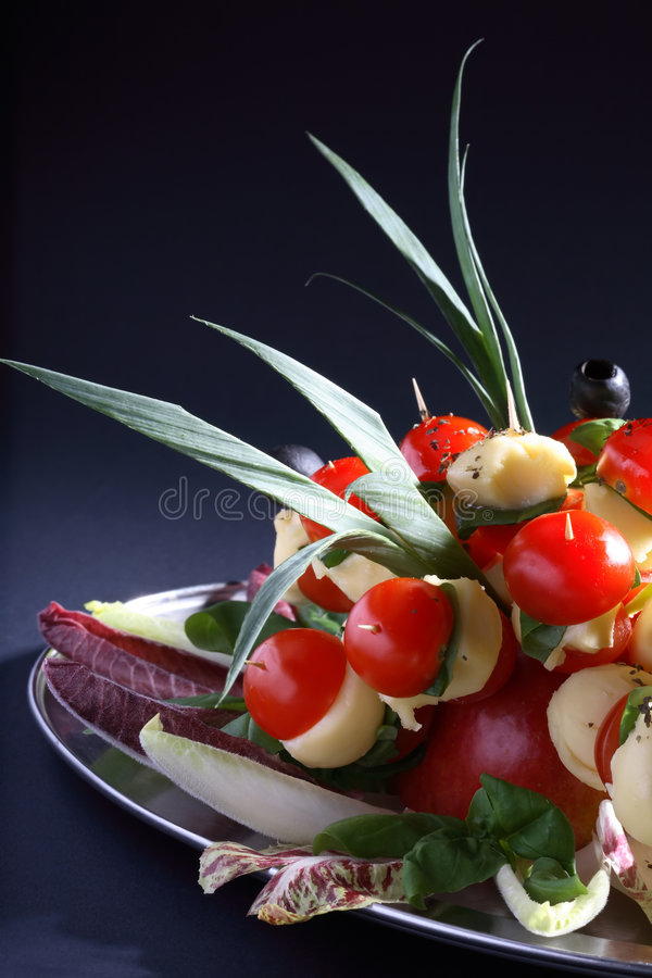 Free Platter Of Party Food Royalty Free Stock Photography - 3543007