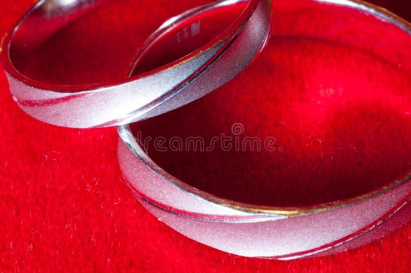 Platyna pierścionek obrazy royalty free