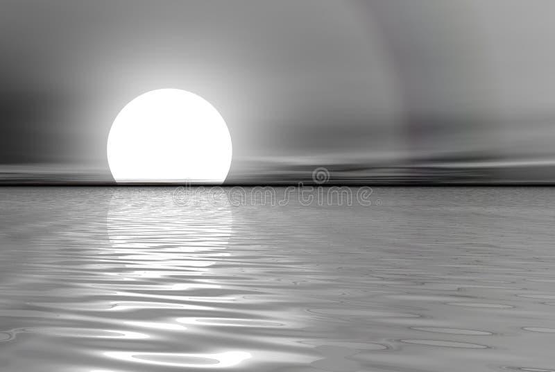 platynowa morza royalty ilustracja