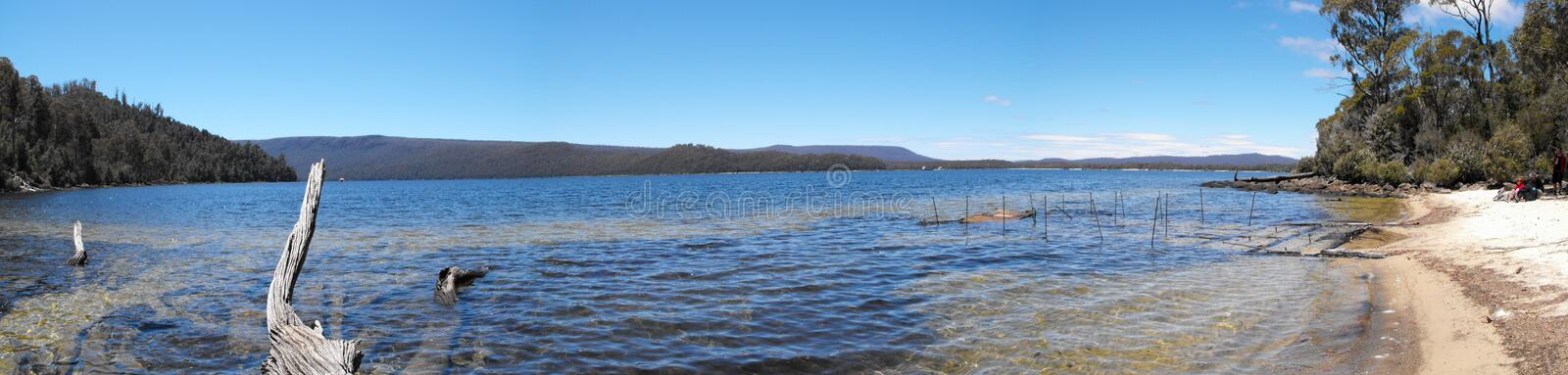 Platypus Bay Royalty Free Stock Images