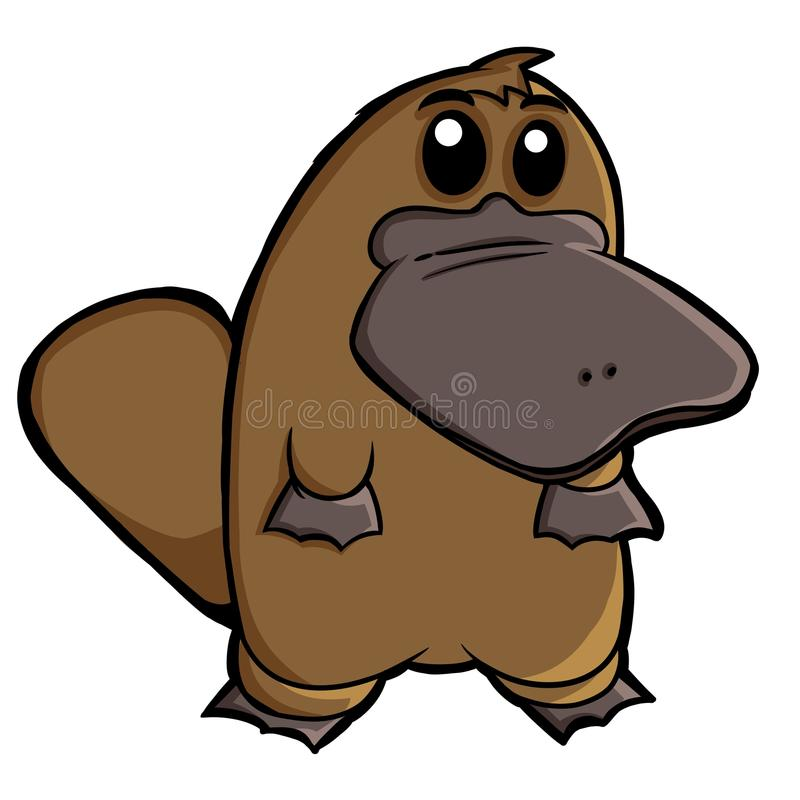 Download Platypus stock illustration. Image of drawing, bill, animal - 35652329