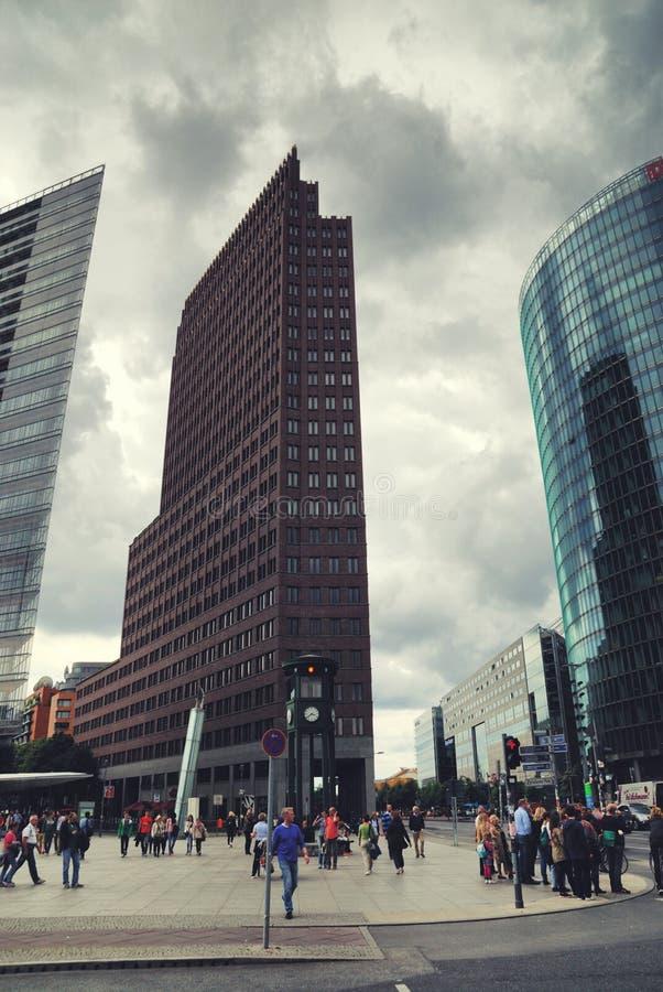 platz de potsdamer de Berlin photo stock
