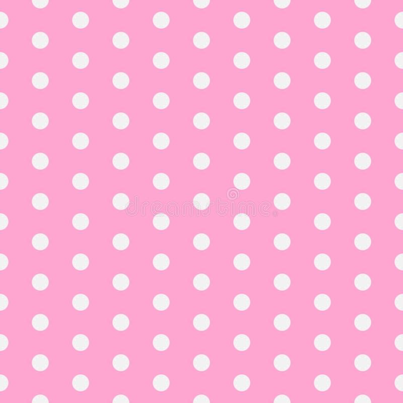 Platz für Exemplar/Text Abstrakte Fliesenbeschaffenheit Vektorillustration mit kleinen Kreisen Punktierter Hintergrund ENV 10 stock abbildung