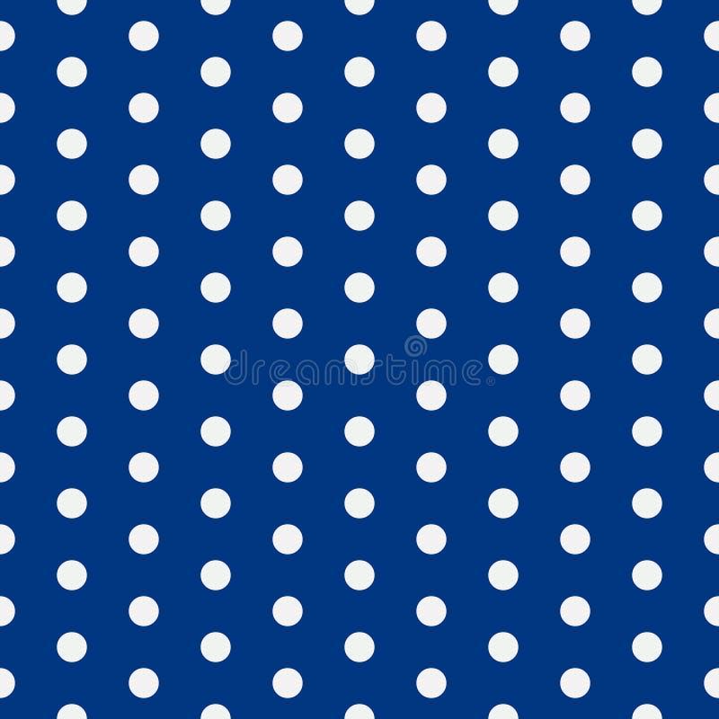 Platz für Exemplar/Text Abstrakte Fliesenbeschaffenheit Vektorillustration mit kleinen Kreisen Punktierter Hintergrund ENV 10 lizenzfreie abbildung