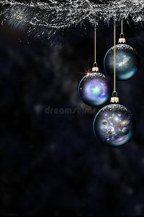 Platz-Weihnachtsflitter Lizenzfreie Stockbilder