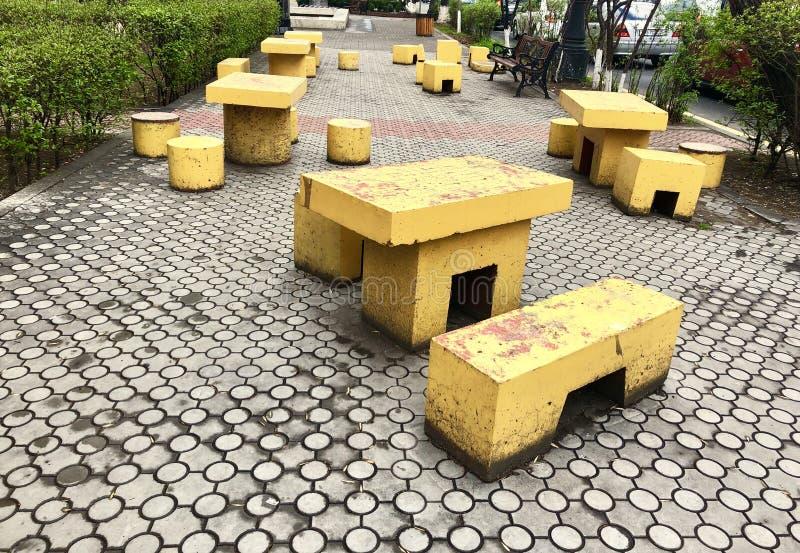 Platz, zum an der Straße in Eriwan zu gehen und stillzustehen lizenzfreies stockbild