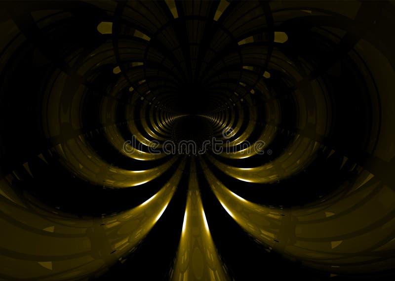 Platztunnel stock abbildung