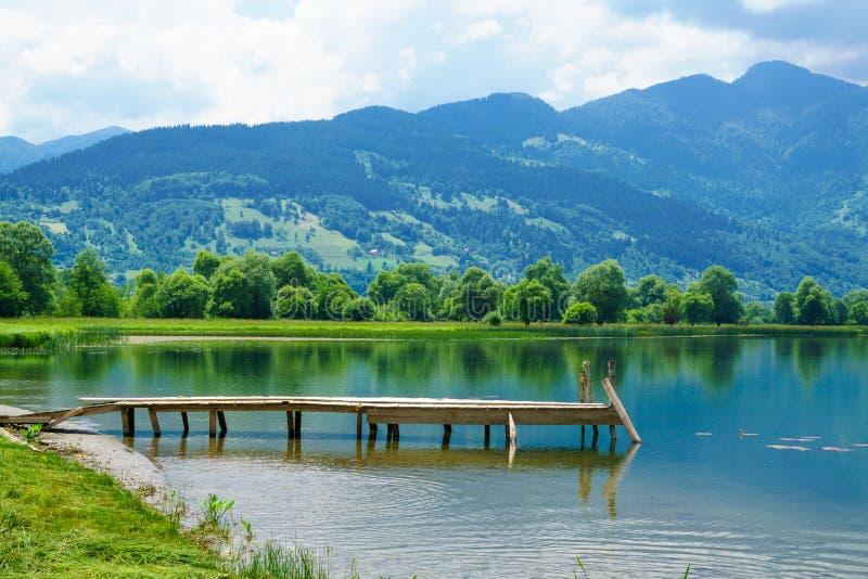 Plav jezioro obrazy royalty free