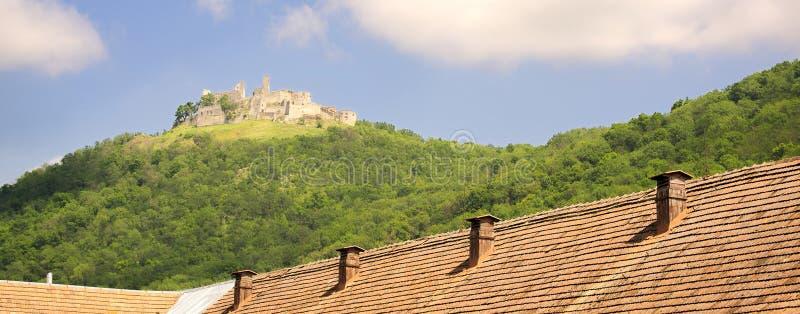 Plavecky hrad, Slovakien royaltyfri foto