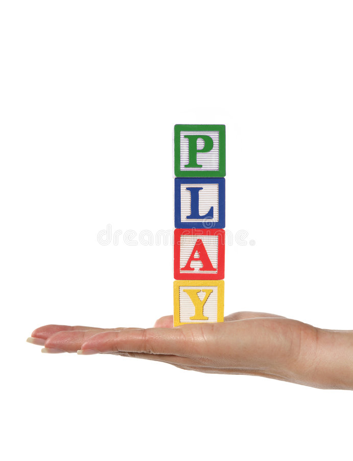 Download Play stock image. Image of education, stack, color, spell - 1300439