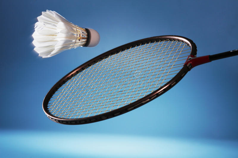 Play badminton royalty free stock photography