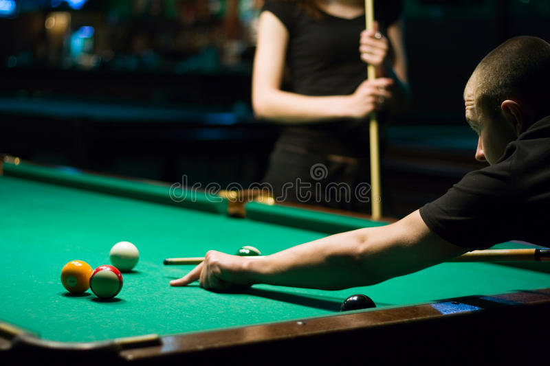Download Play in billiard stock image. Image of hobbies, billiard - 10799283