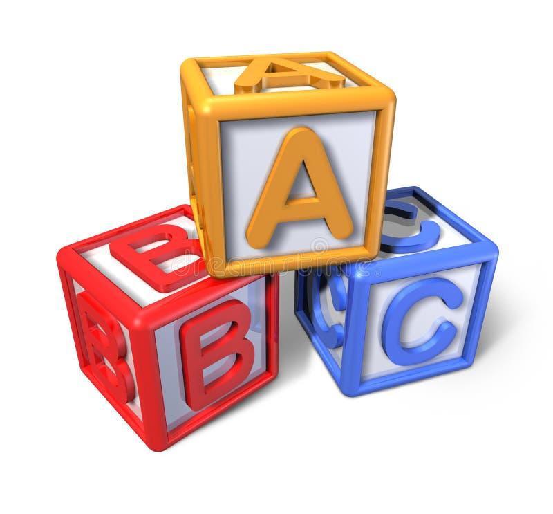 Download Play blocks stock illustration. Image of wood, alphabetical - 19709393