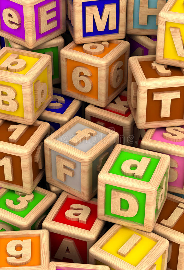 Download Play Cube stock illustration. Image of vertical, image - 25652158