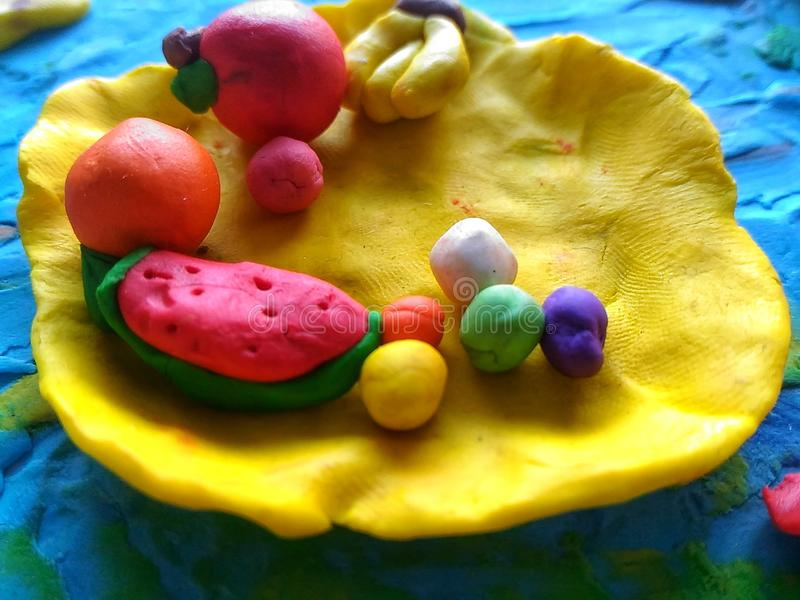 Play-Doh photographie stock