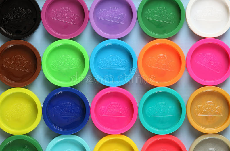 Play-Doh modeling compound stock photos