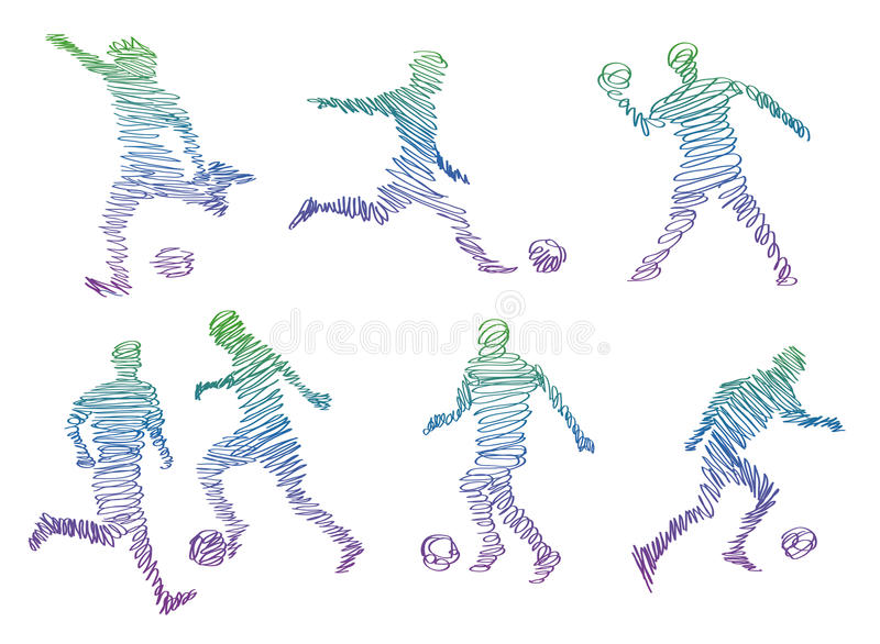 Download Play football stock vector. Illustration of games, athlete - 25760344
