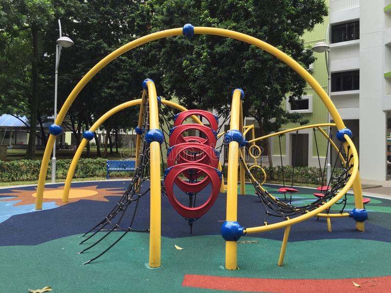Play ground. A Children play ground in the park royalty free stock image