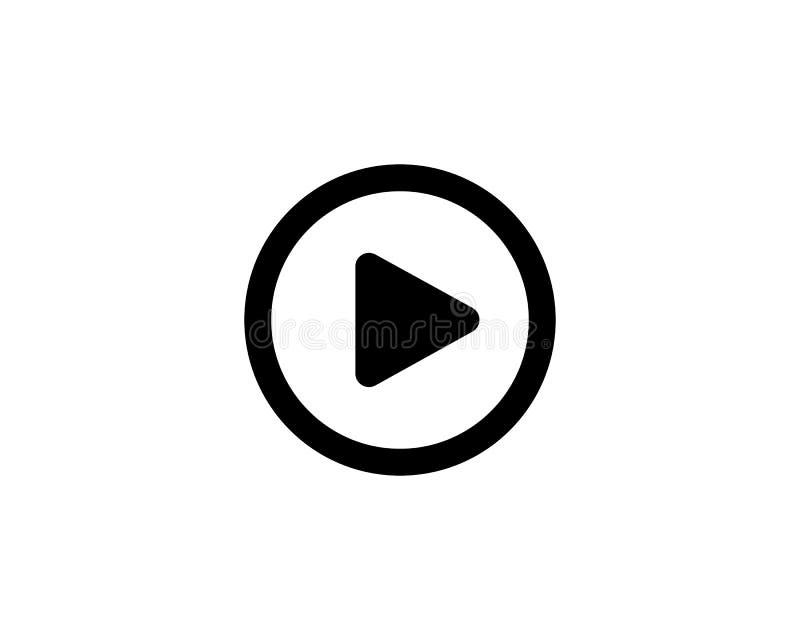 play icon, play media stock illustration