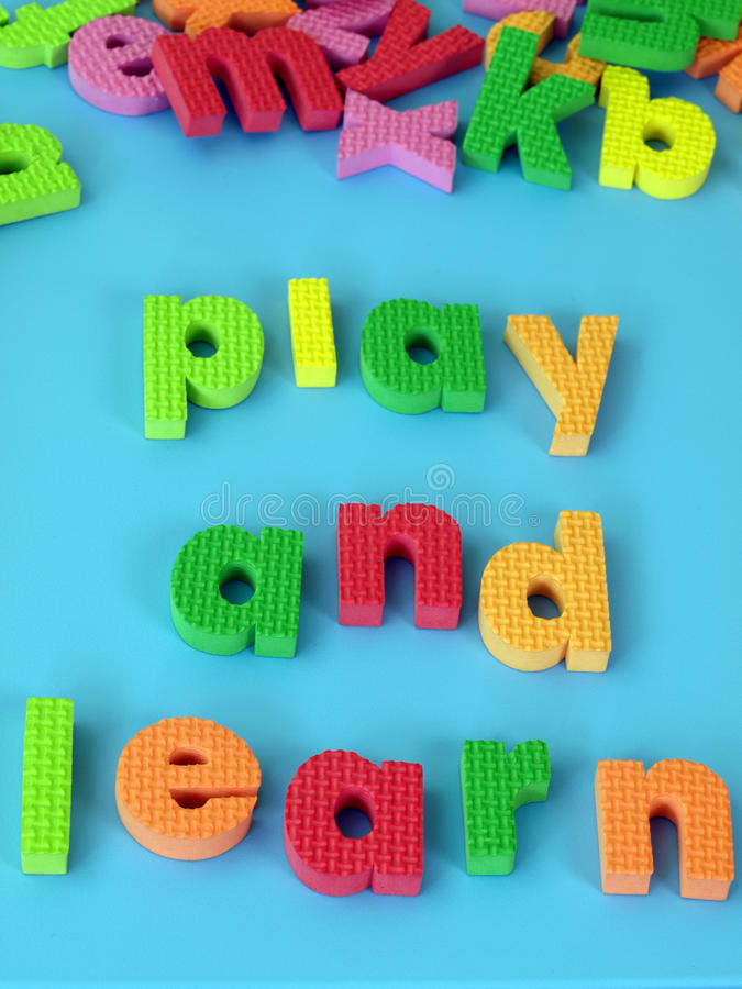 Download Play & learn stock image. Image of play, learn, childish - 25817779