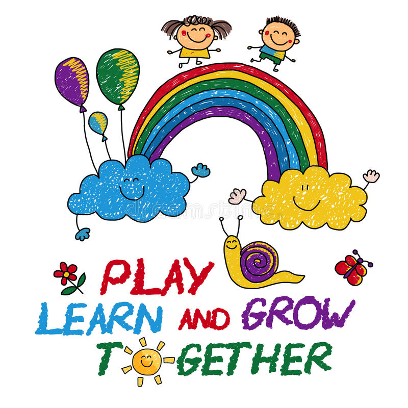 Image result for image of play learn and grow together