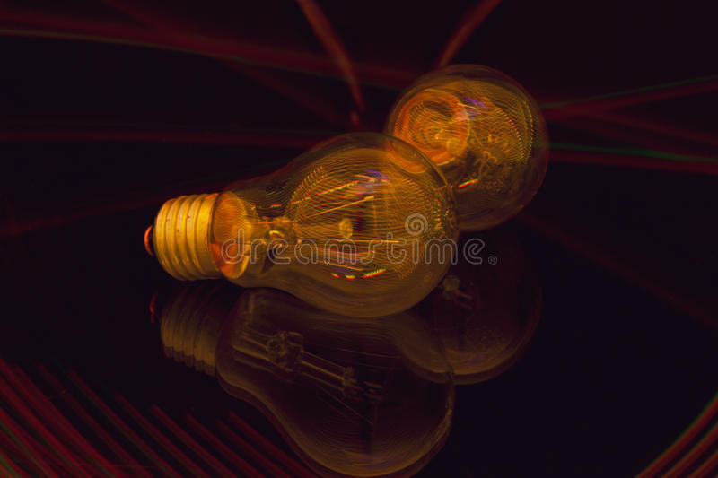 The play of light royalty free stock images