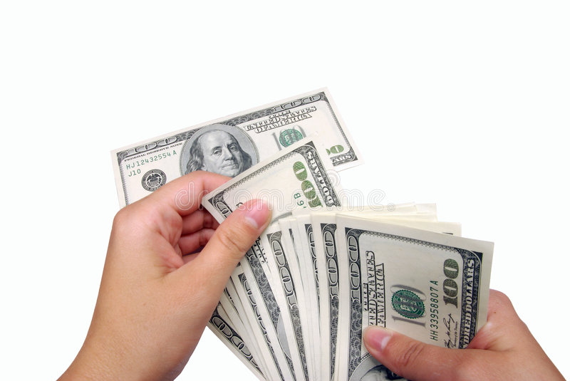 Play with money royalty free stock photos