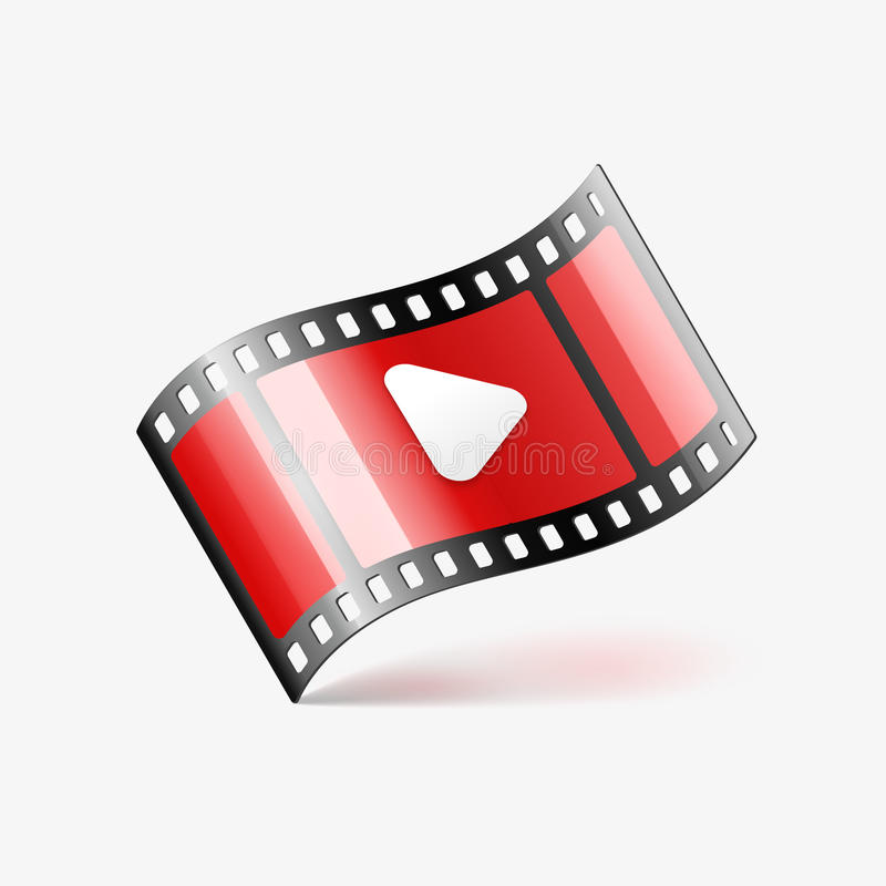 Download Play Movie Film Icon Stock Vector - Image: 83700338