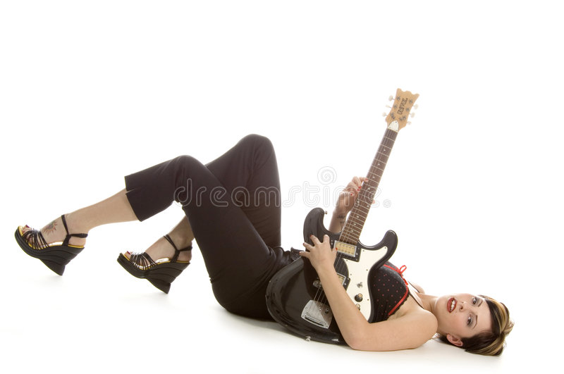 Play my strings royalty free stock image