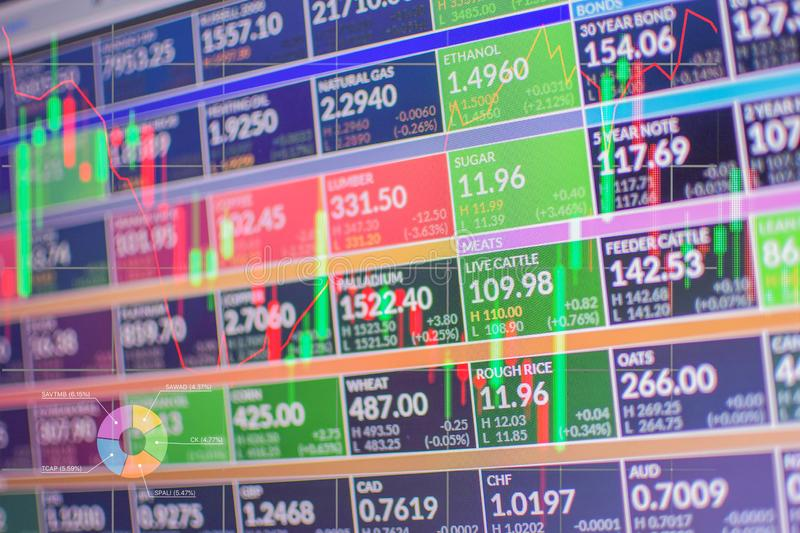 Play stocks in the forex market.  stock photography
