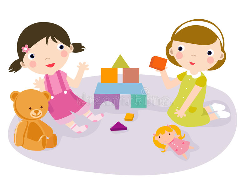 Play time stock illustration