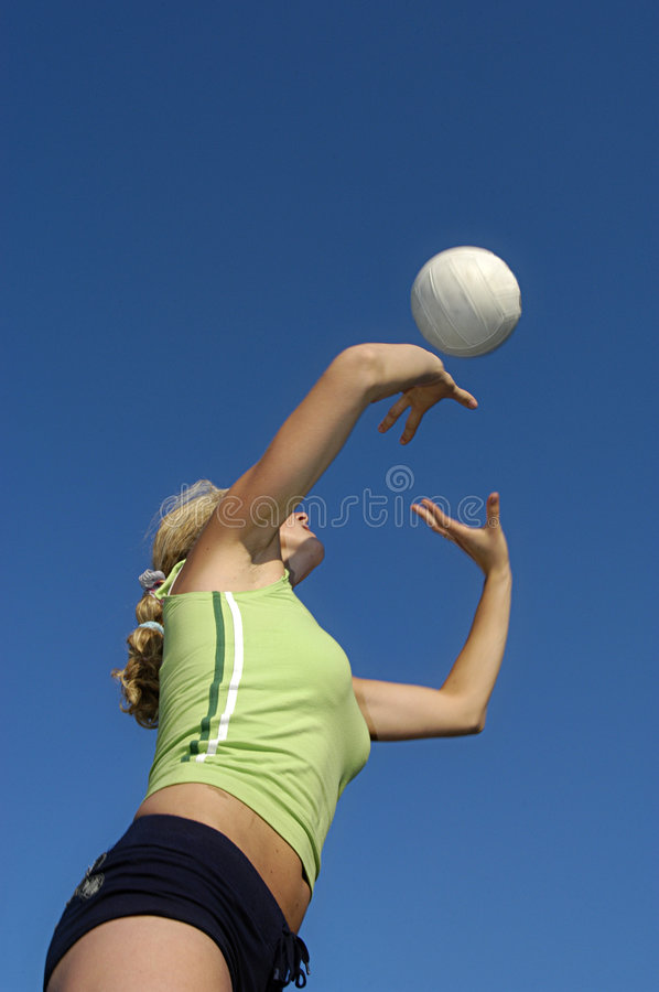Free Play Volleyball Royalty Free Stock Photography - 1579247