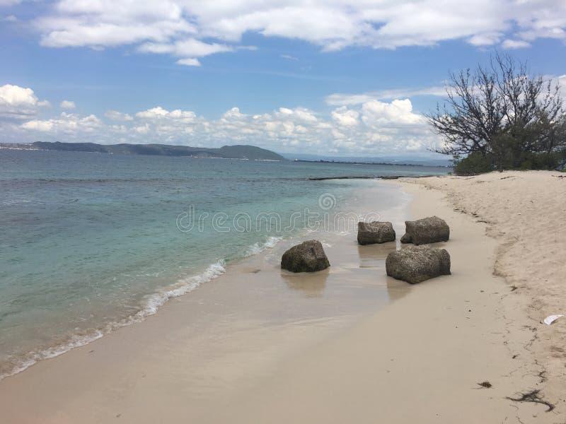 Playa石灰岩礁牙买加 免版税库存图片