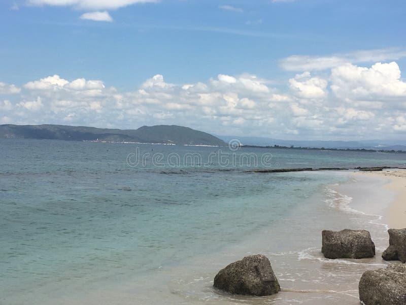 Playa石灰岩礁牙买加 库存照片