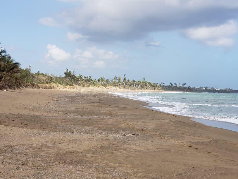 Playa重创的海滩 免版税图库摄影