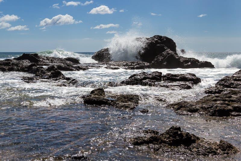 Playa большое, Коста-Рика стоковое изображение rf